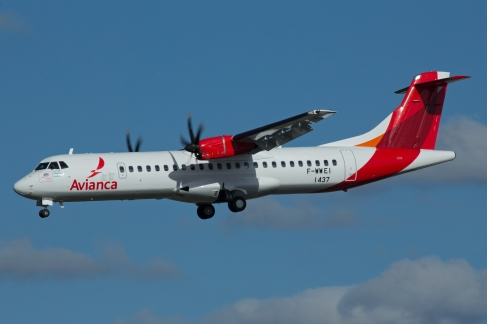 AVIANCA ATR 72 TLS260917